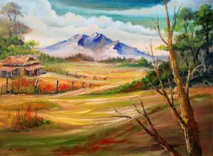 Remegio Onia Debuts New Painting Rural View